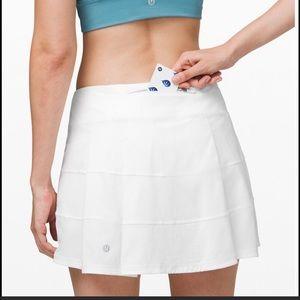 Lululemon Run Pace Rival Skirt Sz 4 Tall